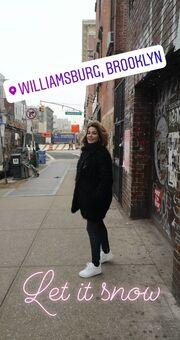 Οι βόλτες της Κατερίνας Παπουτσάκη στο Brooklyn!
