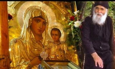 Η εμφάνιση της Παναγίας στον Άγιο Παΐσιο