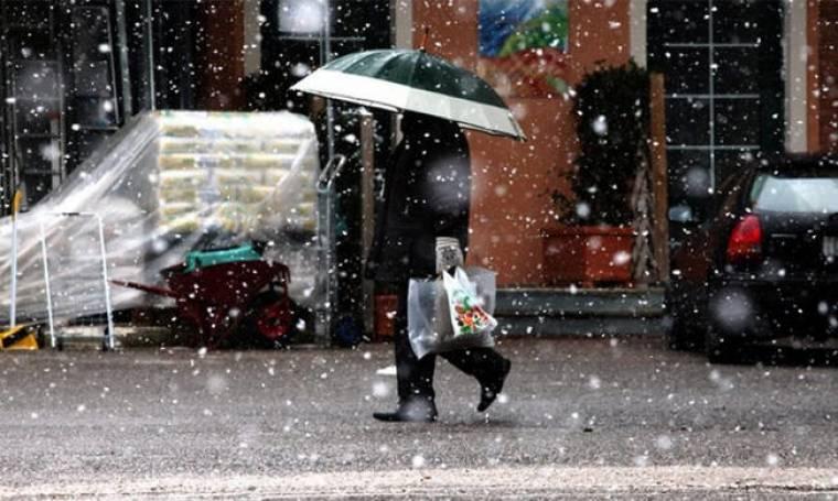 Καιρός: Ενισχύεται σήμερα η κακοκαιρία - Πού θα βρέξει και πού θα χιονίσει