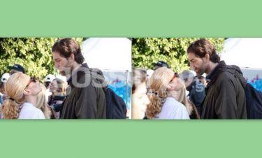 Τζένη Μπότση - Αλέξανδρος Μιχαλάς: Full in love στο κέντρο της Αθήνας! (Photos)