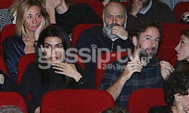 Κωστής Μαραβέγιας - Τόνια Σωτηροπούλου: Το ζευγάρι βρέθηκε σε θεατρική πρεμιέρα! (Photos)