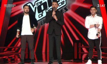 The Voice: Ο Ρουβάς είχε να επιλέξει ανάμεσα σε δύο τραγουδιστές και τελικά διάλεξε τον… Καπουτζίδη!