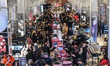 Black Friday: Κοσμοσυρροή στα καταστήματα της Νέας Υόρκης