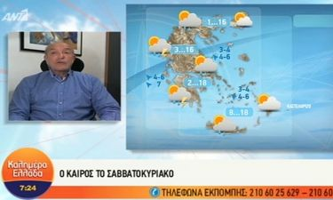 Αρνιακός: Έρχεται ισχυρή κακοκαιρία με βροχές, καταιγίδες, κρύο και χιόνια! (vid)