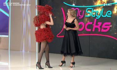 My style rocks Gala: Το sexy ατύχημα της Μαρίας Λέκα (video)