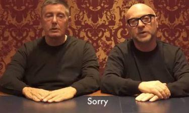 Dolce & Gabbana: Δημόσια απολογία & απόλυτος χλευασμός στην Κίνα (vid)