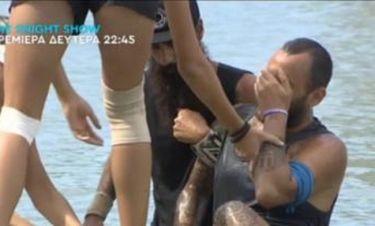Ο σοβαρός τραυματισμός του Μισθοφόρου που σόκαρε τους συμπαίκτες του και η διακοπή του αγώνα!