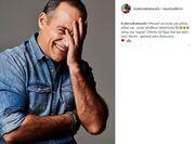 Ο Κρατερός Κατσούλης επιτέλους έφτιαξε σελίδα στο facebook και το ανακοίνωσε μέσω instagram