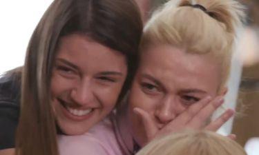GNTM: H Εβελίνα Σκίτσκο ξέσπασε σε κλάματα βλέποντας την κορούλα της (vid)