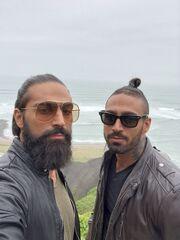 Celebrity Travel: Ο Νίκος Κοκλώνης ταξιδεύει στο Περού μαζί με τα αδέλφια Σεΐτη (Photos)