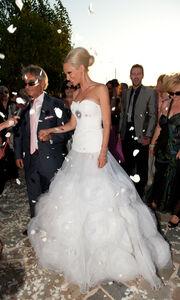 Δείτε την Έλενα Χριστοπούλου νύφη την ημέρα του γάμου της!
