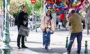Δημήτρης Σκαρμούτσος: Βόλτα και ψώνια με την οικογένειά του στην Κηφισιά (Photos)