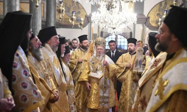 Το Οικ. Πατριαρχείο τίμησε τον ιδρυτή του Άγιο Απόστολο Ανδρέα τον Πρωτόκλητο