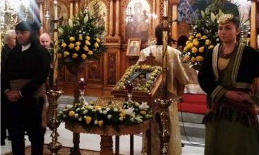 Ο Βόλος υποδέχθηκε ιερό Λείψανο του Οσίου Γεωργίου του Καρσλίδου ΕΙΚΟΝΕΣ