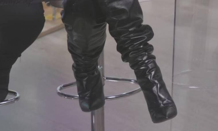 Οι slouchy δερμάτινες μπότες το απόλυτο trend του φετινού χειμώνα
