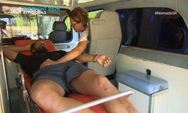 Ανατροπή στο Nomads 2 μετά τη μεταφορά του Νάσου στο νοσοκομείο – Η ανακοίνωση του Πούμπουρα