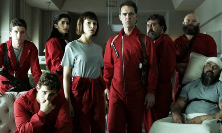 Το «la casa de papel» κέρδισε το βραβείο καλύτερης δραματική σειράς