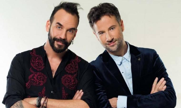 """Μαραβέγιας-Μουζουράκης: «Η τρίτη σεζόν του """"The Voice"""" είναι και η καλύτερη»"""