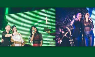 Τα γενέθλια των Kings στον Ηλία Βρεττό και η εντυπωσιακή εμφάνιση της Νταντά (pics)
