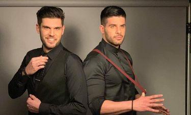 Chic και sexy οι Droulias Brothers στην φωτογράφηση για την αφίσα τους (pics)
