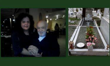 Μαίρη Μπάρκουλη:Στόλισε τον τάφο της μητέρας της-Σε λίγες μέρες θα στολίσει και του Ανδρέα Μπάρκουλη