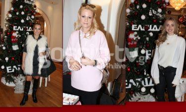 Επώνυμες παρουσίες στο Χριστουγεννιάτικο Bazaar του συλλόγου «Ελπίδα»