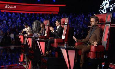 The Voice: Η παρατήρηση του Καπουτζίδη, το υπονοούμενο του Ρουβά και η μπηχτή του Μαραβέγια (vid)