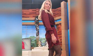 Ελένη: Δείτε την να ετοιμάζεται στο καμαρίνι της, λίγο πριν βγει στην εκπομπή της