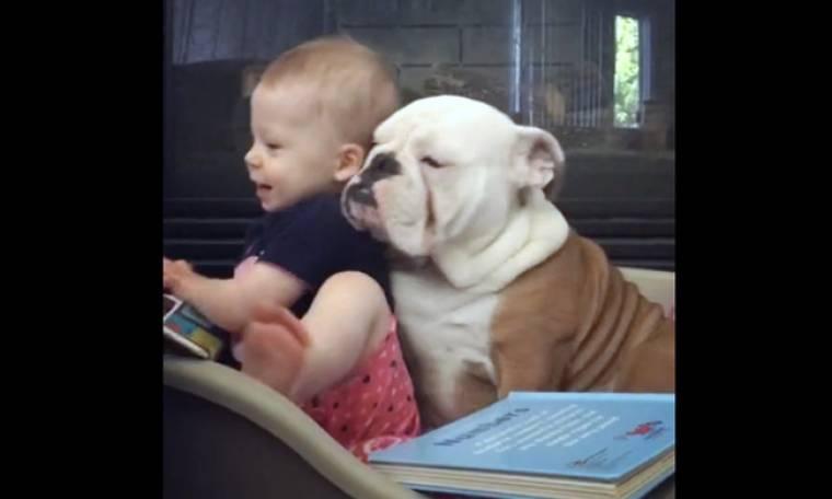 Αυτή είναι πραγματική φιλία! (vid)