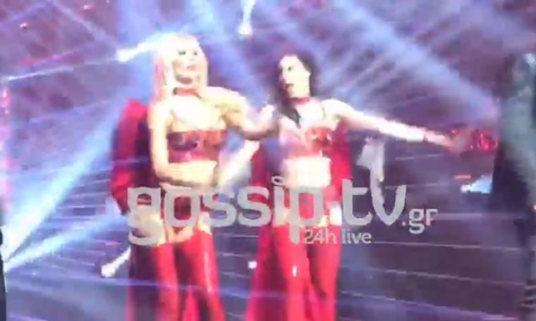 Η Όλγα Πηλιάκη super sexy χορεύει με Ρέμο - Βανδή (VIDEO)