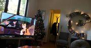 Η εγκυμονούσα Κατερίνα Παπουτσάκη μας δείχνει το εντυπωσιακό σαλόνι της