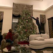 Μαρί Σαντάλ: Δείτε το εντυπωσιακό Χριστουγεννιάτικο δέντρο που στόλισε