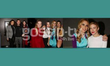 Οι celebrities που παρακολούθησαν την παράσταση «Μαριχουάνα Στοπ»