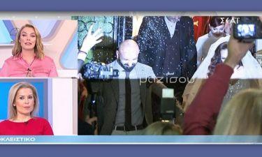 Επεισόδιο με ρεπόρτερ της εκπομπής της Τατιάνας στο γάμο του Υπάτιου Πατμάνογλου
