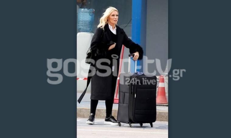 Κατερίνα Καινούργιου: Με μια βαλίτσα στο χέρι