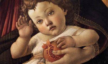 Η ανατομία της ανθρώπινης καρδιάς αναπαρίσταται στο ρόδι που κρατά ο Ιησούς σε διάσημο πίνακα