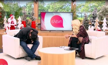 Ελένη: Έλιωσε στο γέλιο με την ατάκα του Γιώργου Χρυσοστόμου