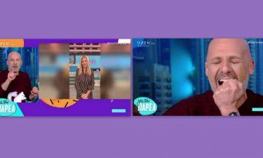 Νίκος Μουτσινάς: Έκανε αποτρίχωση on air εξαιτίας της... Ζέτας Μακρυπούλια!