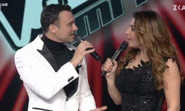 The Voice: Η έκπληξη στην Έλενα Παπαρίζου – Τι της έφερε ο Καπουτζίδης στο πλατό;