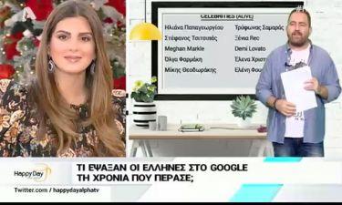 Τι αναζήτησαν περισσότερο στη Google οι Έλληνες χρήστες του διαδικτύου τη χρονιά που μας πέρασε;