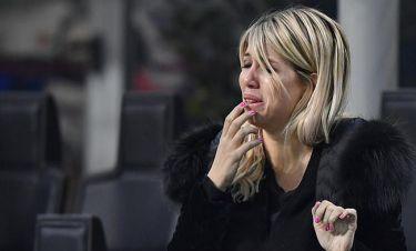 Απίστευτο κλάμα από την κυρία Ικάρντι για τον αποκλεισμό της Ίντερ (pics)