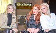 Η Χριστίνα Κοντοβά εγκαινίασε το νέο της showroom στο Κολωνάκι!