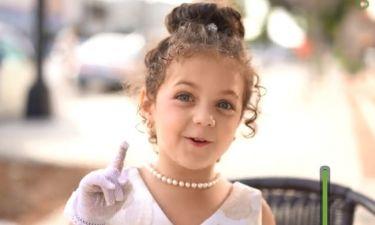 Η 5χρονη ερμηνεύει Σινάτρα και εντυπωσιάζει