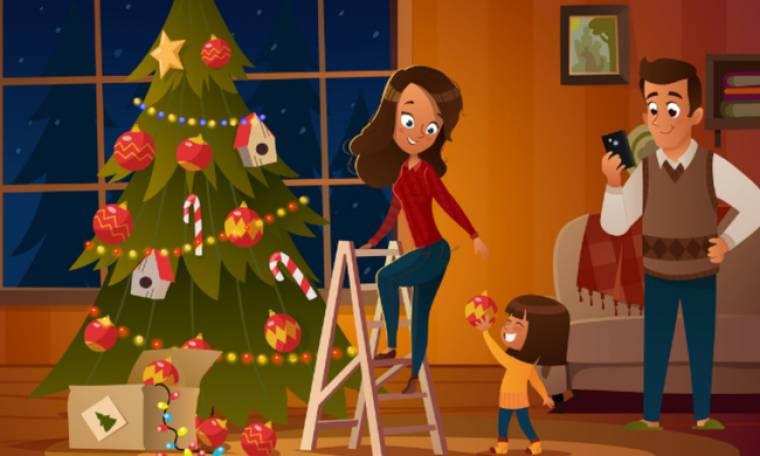 Έχεις σίγουρα κι εσύ ένα φίλο που τρελαίνεται με τα Χριστούγεννα