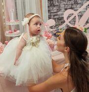 GNTM: Δείτε για πρώτη φορά τη δέκα μηνών κόρη της Εβελίνας Σκίτσκο και θα... λιώσετε!