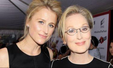 Γιαγιά για πρώτη φορά Meryl Streep
