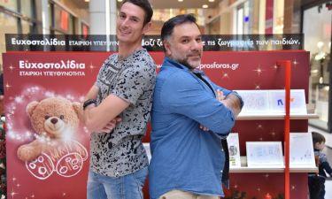 Γρηγόρης Αρναούτογλου και Παναγιώτης Τριβυζάς σε ένα απολαυστικό challenge με Ευχοστολίδια