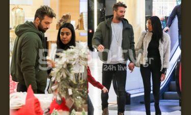 Τεό Θεοδωρόπουλος: Χέρι-χέρι με τη σύντροφό του για ψώνια (pics)