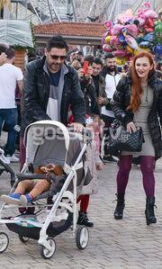 Οικογενειακή βόλτα για τον Γιώργο Χειμωνέτο (pics)