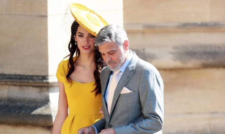 Το φόρεμα που φόραγε η Αμάλ Αλαμουντίν στο γάμο Χάρι-Μέγκαν έγινε ανάρπαστο